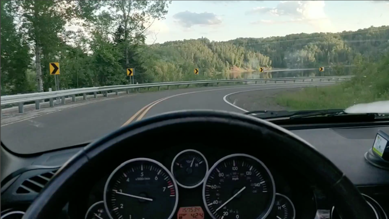 A drive through Jay Cooke State Park